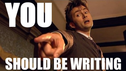 Doctor Who writing