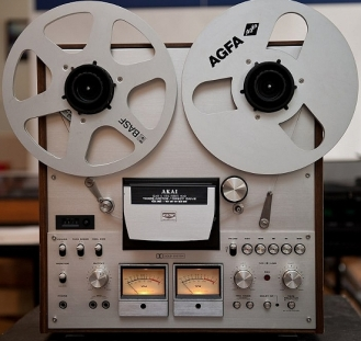 Akai GX-630DB reel to reel tape player
