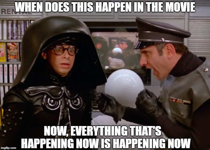 Spaceballs now
